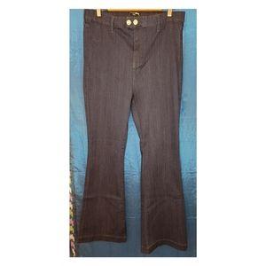 Fashion Nova bell bottom jeans